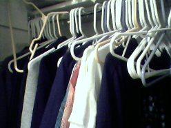 emptying closet